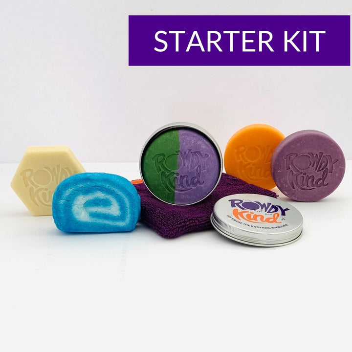 Ultimate Bathtime Starter Kit - Rowdy Kind