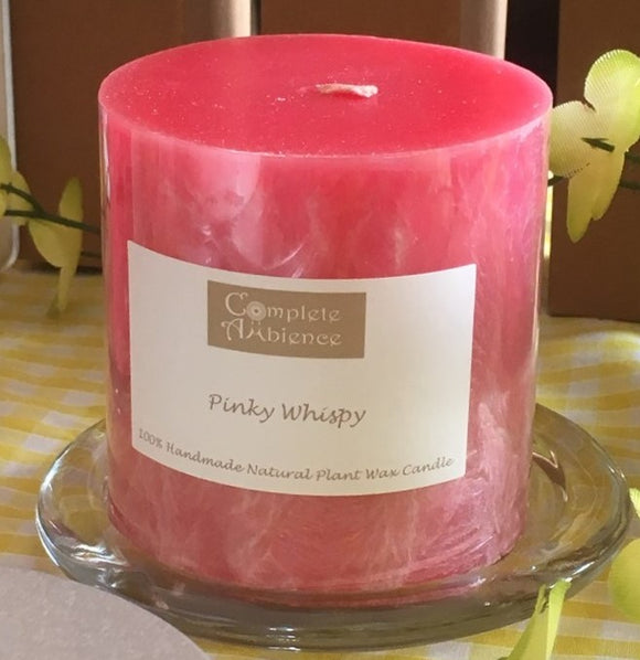 Fragrance Aroma Coloured Pillar Candles