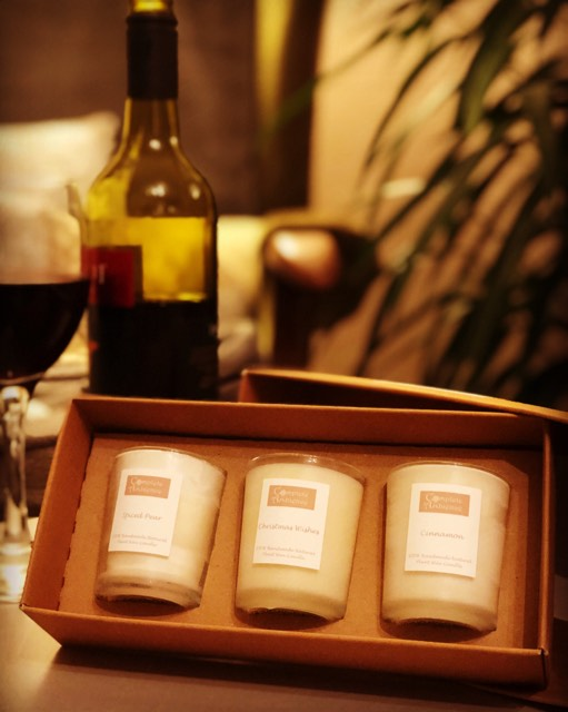 9cl Natural Candle Gift Set