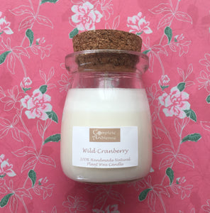 Essential Oil Milk Pudding Candles
