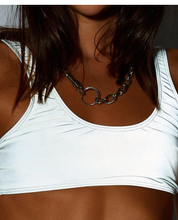 Load image into Gallery viewer, Reflective Sports Bra