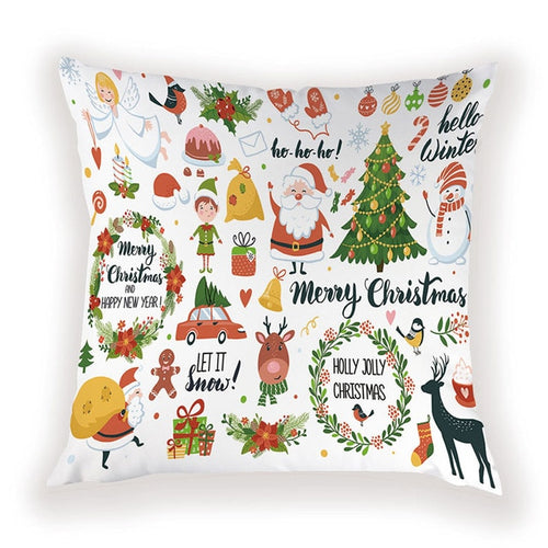 Very Merry Christmas Pillow Cover
