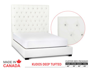 Kudos - Custom Upholstered Bed Collection - Made In Canada
