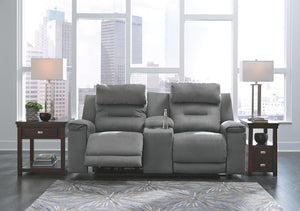 Trampton - Power Recliner Love Seat - Adjustable Headrest - 3130313 - Ashley Furniture