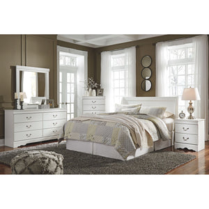 Anarasia - White - Dresser - B129-31 - Ashley Furniture