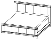 Load image into Gallery viewer, Bayshore - Solid Wood Bed - Made in Canada