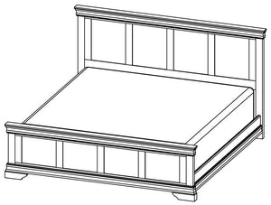 Bayshore - Solid Wood Bed - Made in Canada