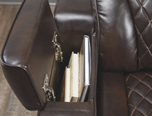 Load image into Gallery viewer, Warnerton - Power Recliner Love Seat - Adjustable Headrest - 7540718 - Ashley Furniture