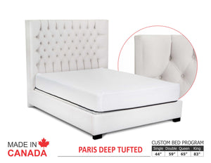 Paris - Custom Upholstered Bed Collection - Made In Canada