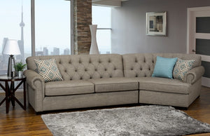 Social - Custom Sofa Sectional Collection - Made In Canada
