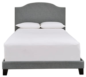 Adelloni 3 Piece King Upholstered Bed - B080-182 - Signature Design by Ashley Furniture