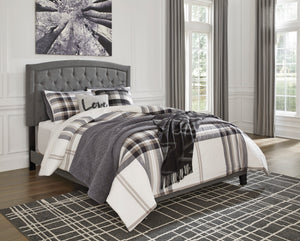 Adelloni 3 Piece King Upholstered Bed - B080-782 - Signature Design by Ashley Furniture