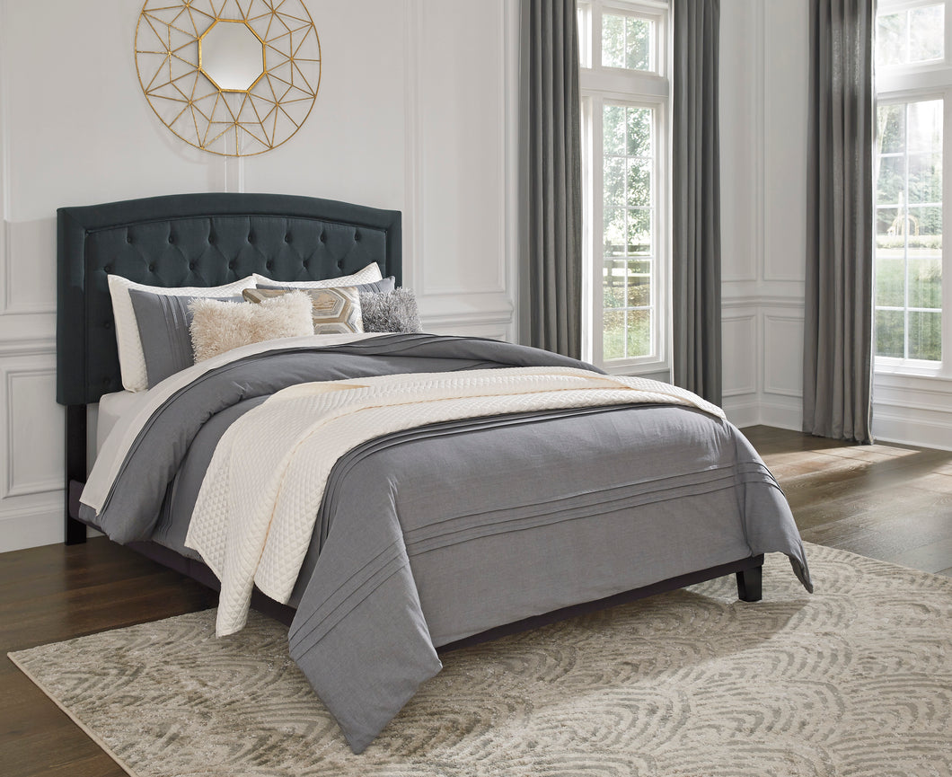Adelloni 3 Piece Queen Upholstered Bed - B080-881 - Signature Design by Ashley Furniture