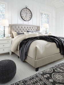 Jerary Upholstered King Bed - Gray - B090-782 - Signature Design by Ashley Furniture