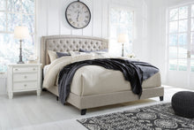 Load image into Gallery viewer, Jerary Upholstered King Bed - Gray - B090-782 - Signature Design by Ashley Furniture
