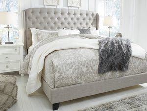 Jerary Upholstered Queen Bed - Gray - B090-981 - Signature Design by Ashley Furniture