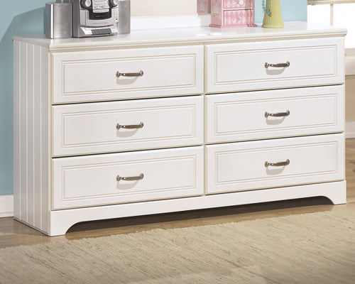 Lulu - White - Dresser - B102-21 - Ashley Furniture