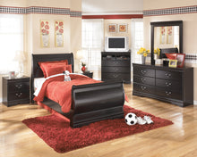 Load image into Gallery viewer, Huey Vineyard - Black - Dresser - B128-31 - Ashley Furniture