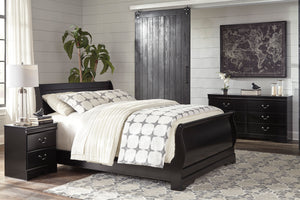 Huey Vineyard - Full Sleigh Bed - B128-84-87-88 - Signature Design by Ashley Furniture
