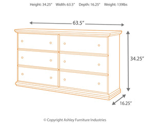 Maribel - Black - Dresser - B138-31 - Ashley Furniture