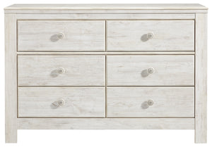 Paxberry - Whitewash - Dresser - B181-21- Ashley Furniture