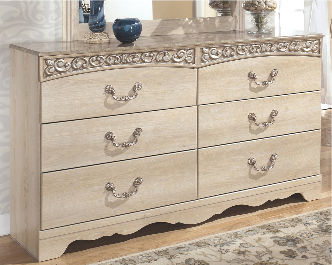 Catalina - Antique White - Dresser - B196-31 - Ashley Furniture