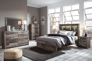 Derekson - Queen Storage Bookshelf Bed - B200 - Ashley Furniture