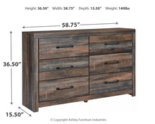 Load image into Gallery viewer, Drystan - Grey - Dresser - B211-31 - Ashley Furniture