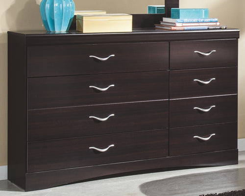 Zanbury - Dark Walnut - Dresser - B217-31 - Ashley Furniture