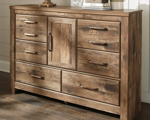 Blaneville - Brown - Dresser - B224-31 - Ashley Furniture