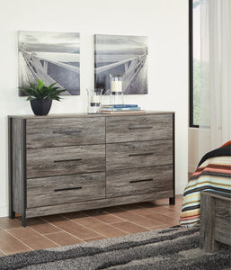 Cazenfeld - Black/Grey - Dresser - B227-31 - Ashley Furniture