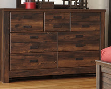 Load image into Gallery viewer, Quinden - Dark Brown - Dresser - B246-31 - Ashley Furniture