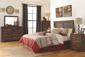 Quinden - Dark Brown - Dresser - B246-31 - Ashley Furniture