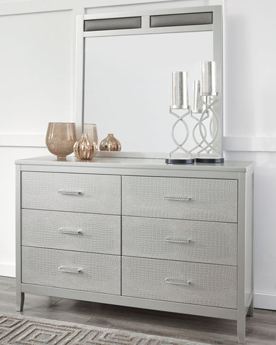 Olivet - Dresser and Mirror - B560 - Ashley Furniture