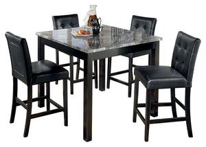 Maysville - 5 Piece Counter Height Dining Table Set - D154 - Ashley Furniture