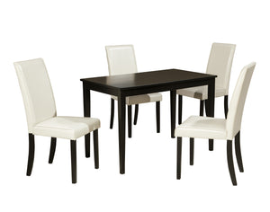 Kimonte - 5 Piece Dining Table Set - D250 - Signature Design by Ashley Furniture