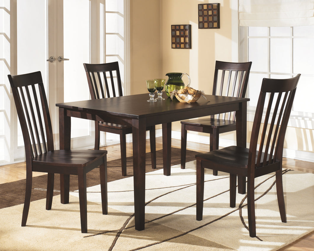 Hyland - 5 Piece Dining Table Set - D258 - Signature Design by Ashley Furniture