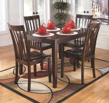 Load image into Gallery viewer, Hyland - 5 Piece Dining Table Set - D258 - Signature Design by Ashley Furniture