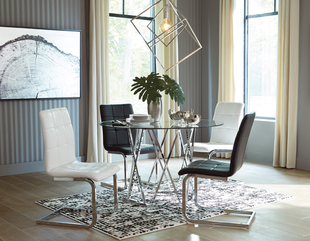 Madanere 5 Piece Round Dining Table Set - D275 - Ashley Furniture