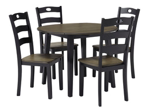 Froshburg - 5 Piece Round Dining Table Set - D338 - Ashley Furniture
