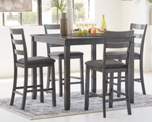 Load image into Gallery viewer, Bridson - 5 Piece Square Counter Height Table Set - D383 - Ashley Furniture