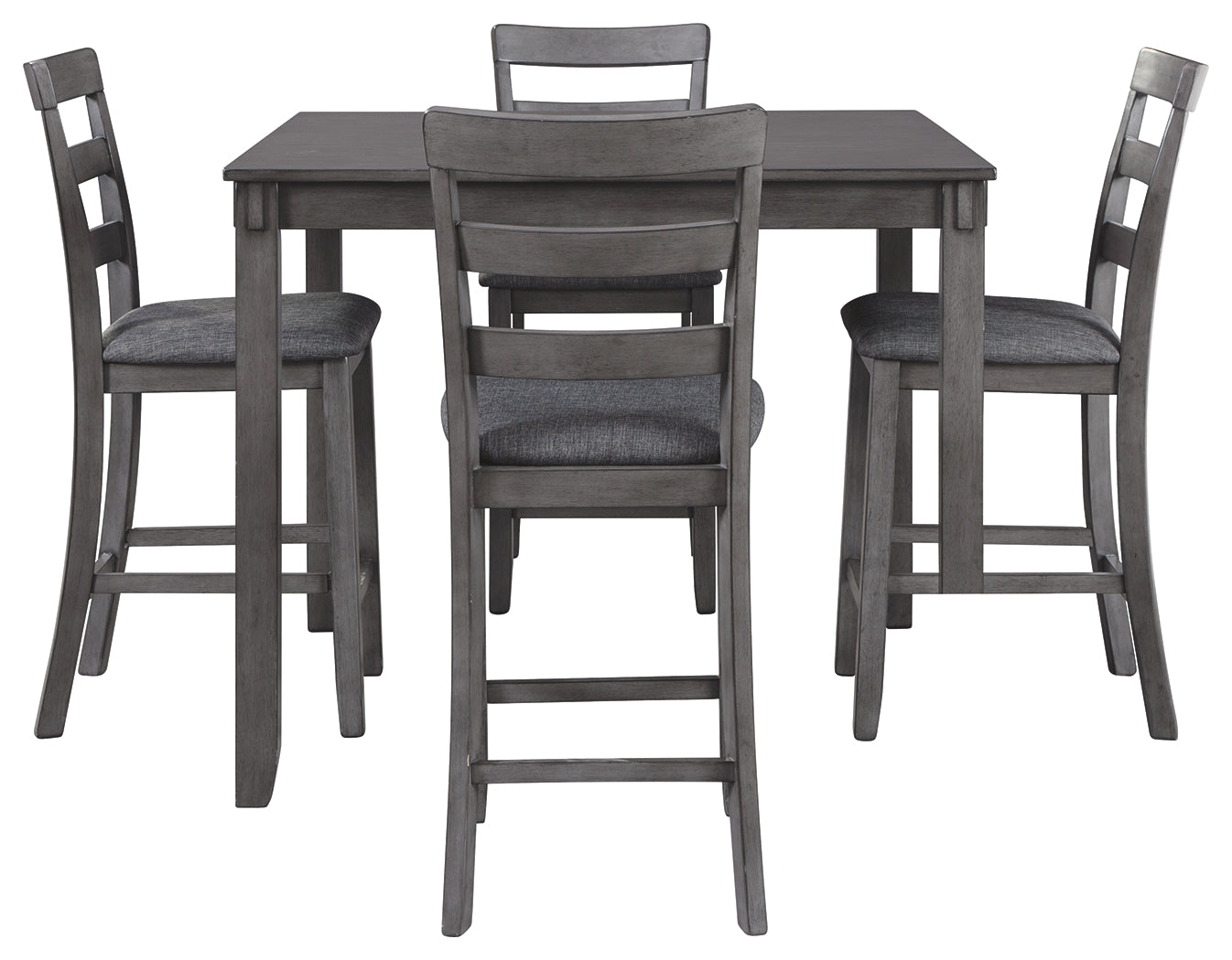 Picture of: Bridson 5 Piece Square Counter Height Table Set D383 Ashley Furn Super Deal Furniture Gallery