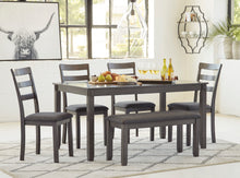 Load image into Gallery viewer, Bridson - 6 Piece Dining Table Set - D383 - Signature Design by Ashley Furniture