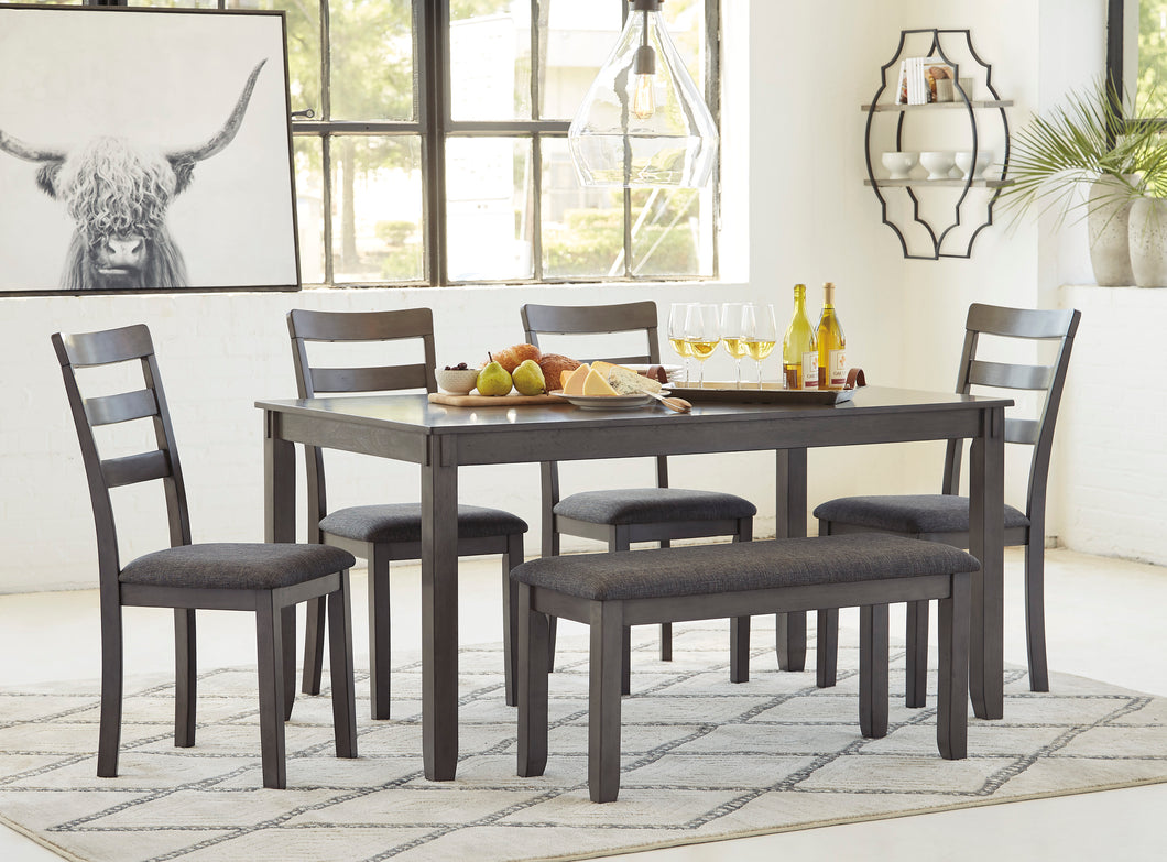 Bridson - 6 Piece Dining Table Set - D383 - Signature Design by Ashley Furniture