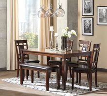Load image into Gallery viewer, Bennox - 6 Piece Dining Table Set - D384 - Signature Design by Ashley Furniture