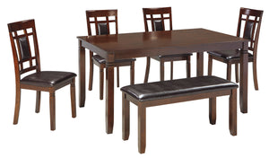 Bennox - 6 Piece Dining Table Set - D384 - Signature Design by Ashley Furniture