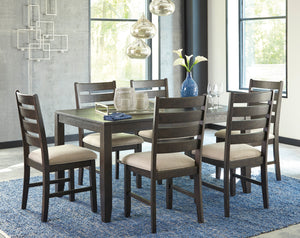 Rokane - 7 Piece Dining Table Set - D397 - Signature Design by Ashley Furniture