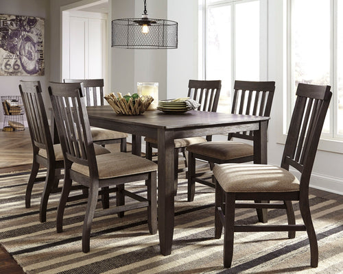 Dresbar - 7 Piece Dining Table Set - D485 - Ashley Furniture