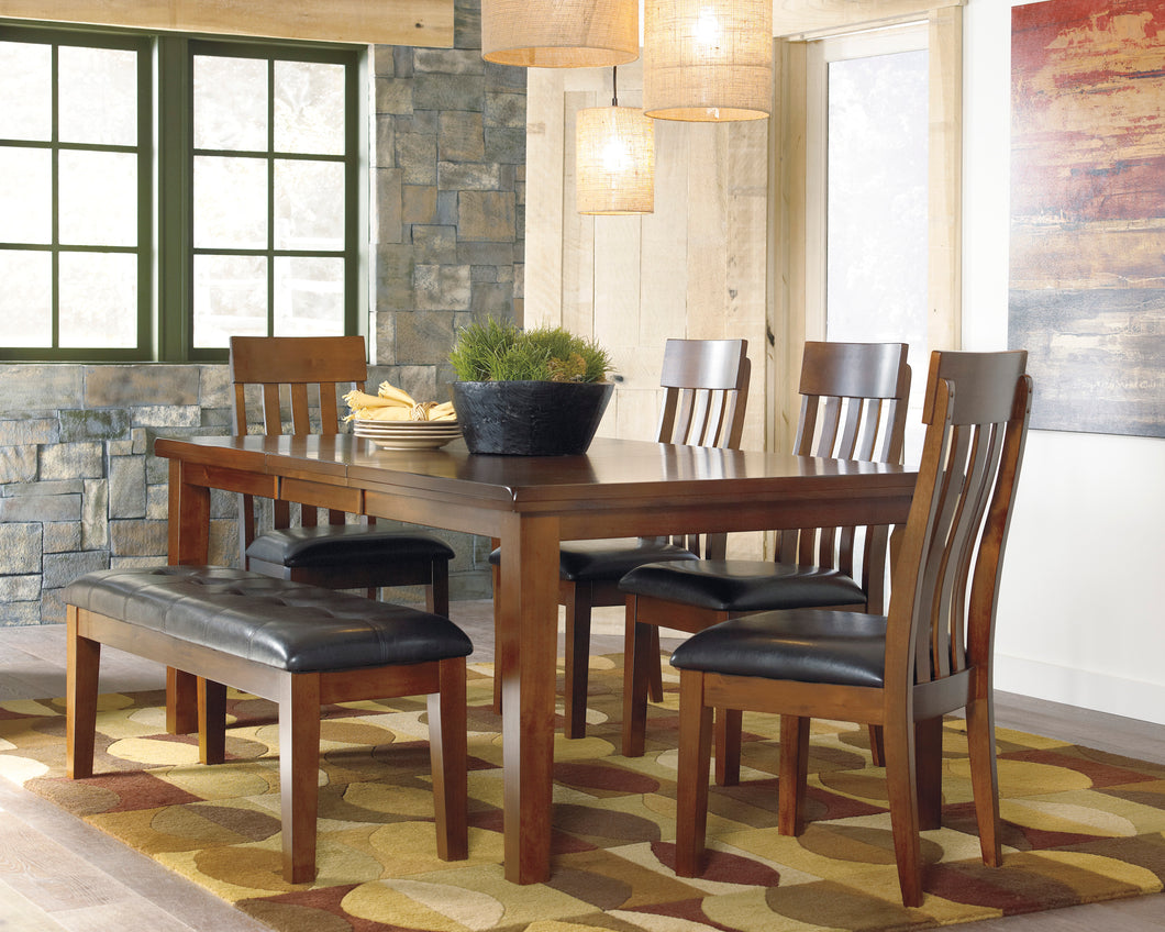 Ralene - 6 Piece Dining Extension Table Set - D594 - Ashley Furniture