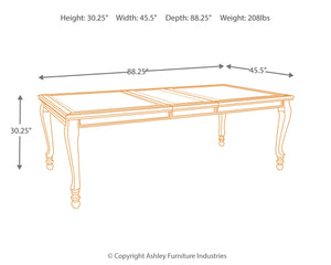 Coralayne - 5 Piece Dining Set - D650 - Ashley Furniture